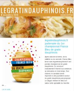 club gourmand du gratin dauphinois